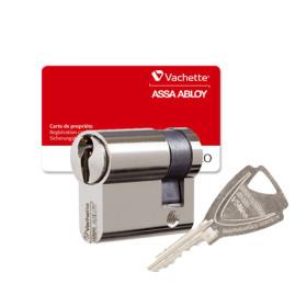 Demi Cylindre Vachette V5 Neo nickelé