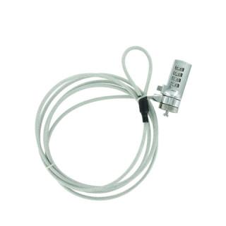 Câble antivol L. 1m80 pour ordinateur portable