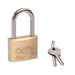 Cadenas automatiques 50 x 152 x Ø 8 mm avec clés plates numérotées