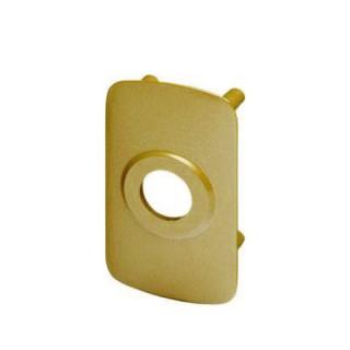 Contreplaque de sécurité vernie pour verrou cyclop Ø 23 mm, réf 704V