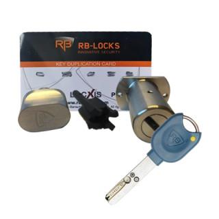 Cylindre à bouton DENTOCHE/Locxis RB-Locks pour Héraclès Trident / Picard Vigie