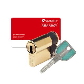 Demi-cylindre Vachette Radialis A2P Laiton poli