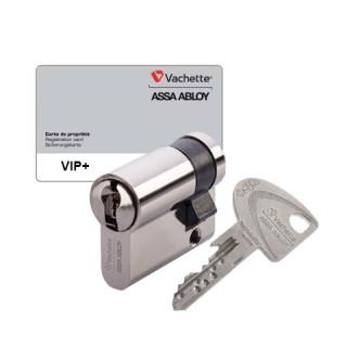 demi cylindre vip+ vachette