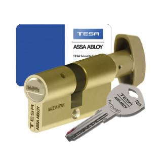 Cylindre à bouton Tesa TD60 laiton