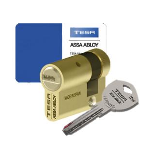 Demi-cylindre Tesa TD60 laiton poli