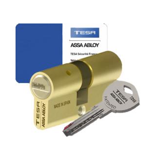 Cylindre Tesa TD60 double entrée laiton poli
