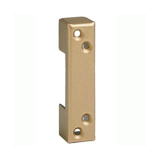 Gâche étroite bronze pour menuiserie métallique