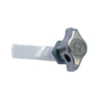 Serrure à came cadenassable Ø 16.6 mm, long 19.5 mm (livrée sans came)