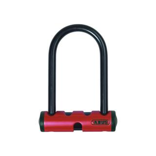 Mini U, anse 140mm, Ø 14 mm en acier cémenté, rouge