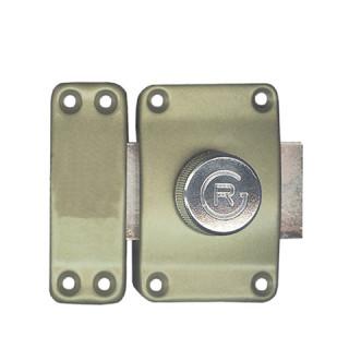 Verrou dore bouton tournant n-1022 3 clés plates canon 45 mm